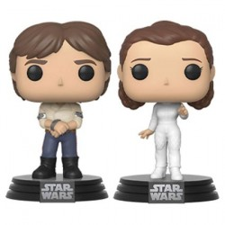 Figur Pop! Star Wars Han and Leia Pack 2 Funko Online Shop Switzerland