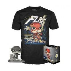 Figurine Pop! et T-shirt DC Comics Jim Lee Flash Edition Limitée Funko Boutique en Ligne Suisse