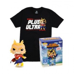 Figur Pop! Glow in the Dark and T-shirt My Hero Academia All Might Limited Edition Funko Online Shop Switzerland