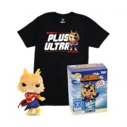 Figurine Pop! Phosphorescent et T-shirt My Hero Academia All Might Edition Limitée Funko Boutique en Ligne Suisse