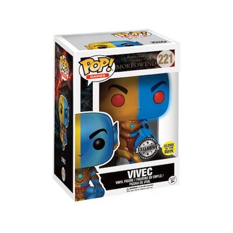 Figur Pop! Glow in the Dark Games Elder Scrolls Vivec Limited Edition Funko Online Shop Switzerland