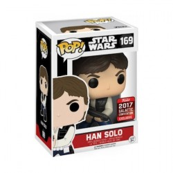 Figur Pop! Galactic Convention 2017 Star Wars Han Solo Action Pose Limited Edition Funko Online Shop Switzerland