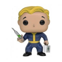Figur Pop! Games Fallout Vault Boy Medic Limited Edition Funko Online Shop Switzerland
