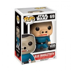 Pop! Star Wars Blue Snaggletooth Limited Edition