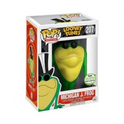 Pop! Emerald Comicon 2017 Looney Tunes Michigan J. Frog Limited Edition