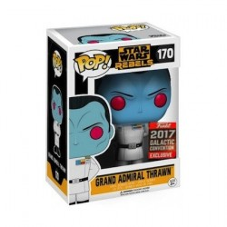 Pop! Galactic Convention 2017 Star Wars Rebels Grand Admiral Thrawn Limited Edition