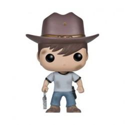 Figurine Pop! The Walking Dead Carl (Rare) Funko Boutique en Ligne Suisse