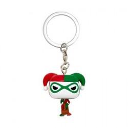 Figurine Pop! Pocket Porte-clés Batman Harley Quinn Holiday Funko Boutique en Ligne Suisse