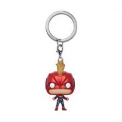 Figur Pop! Pocket Keychains Marvel Captain Marvel with Helmet Funko Online Shop Switzerland