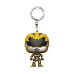 Figurine Pop! Pocket Porte clés Power Rangers Yellow Ranger Funko Boutique en Ligne Suisse