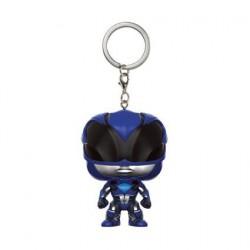 Figurine Pop! Pocket Porte clés Power Rangers Blue Ranger Funko Boutique en Ligne Suisse