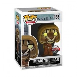 Pop! The Elder Scrolls V Skyrim M'aiq the Liar Limited Edition