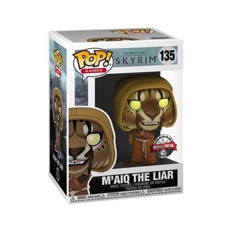 Figur Pop! The Elder Scrolls V Skyrim M'aiq the Liar Limited Edition Funko Online Shop Switzerland