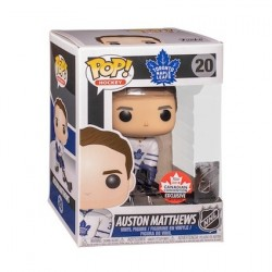 Figurine Pop! 2018 Canadian Convention Hockey NHL Auston Matthews Toronto Maple Leafs Away Uniform Edition Limitée Funko Bout...