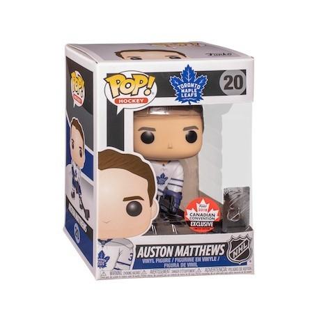 Figur Pop! 2018 Canadian Convention Hockey NHL Auston Matthews Toronto Maple Leafs Away Uniform Limited Edition Funko Online ...