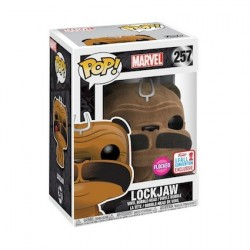 Figur Pop! NYCC 2017 Flocked Marvel Inhumans Lockjaw Limited Edition Funko Online Shop Switzerland