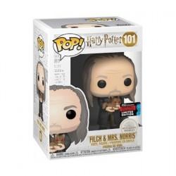 Figurine Pop! NYCC 2019 Harry Potter Argus Filch and Mrs Norris Yule Edition Limitée Funko Boutique en Ligne Suisse