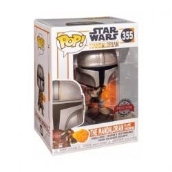 Figur Pop! Star Wars The Mandalorian Wrist Rocket Metallic Limited Edition Funko Online Shop Switzerland