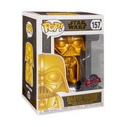 Figurine Pop! Métallique Star Wars Darth Vader Gold Edition Limitée Funko Boutique en Ligne Suisse