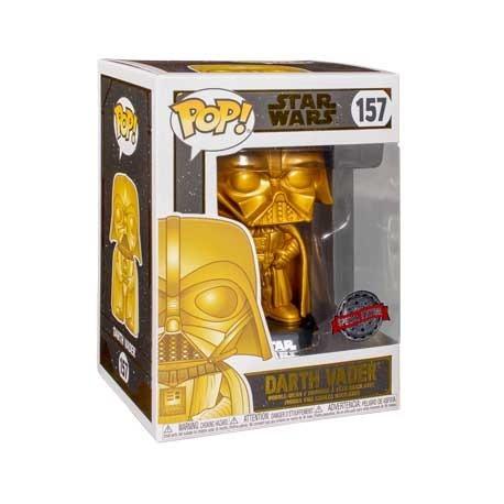 Figur Pop! Star Wars Darth Vader Gold Metallic Limited Edition Funko Online Shop Switzerland