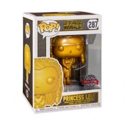 Pop! Star Wars Princess Leia Gold Metallic Limited Edition