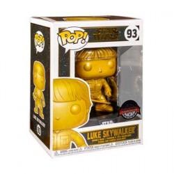 Figurine Pop! Métallique Star Wars Luke Skywalker Gold Edition Limitée Funko Boutique en Ligne Suisse