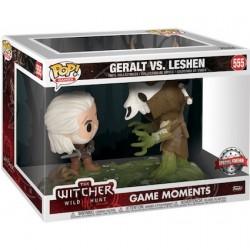 Figurine Pop! The Witcher 3 The Wild Hunt Geralt vs Leshen Game Moment Edition Limitée Funko Boutique en Ligne Suisse