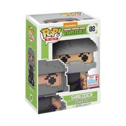 Figur Pop! NYCC 2017 Teenage Mutant Ninja Turtles Shredder 8-Bit Limited Edition Funko Online Shop Switzerland