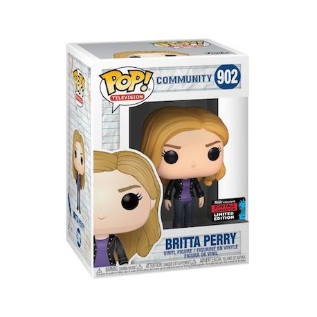 Figur Pop! NYCC 2019 Community Britta Perry Limited Edition Funko Online Shop Switzerland