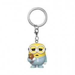 Figurine Pop! Pocket Porte Clés Minions II Pajama Bob Funko Boutique en Ligne Suisse