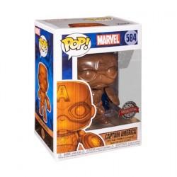 Figur Pop! Marvel Captain America Wood Deco Limited Edition Funko Online Shop Switzerland