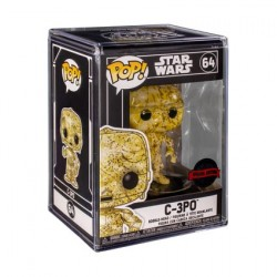 Figur Pop! Futura Star Wars C-3PO with Hard Acrylic Protector Limited Edition Funko Online Shop Switzerland