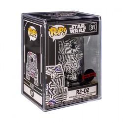 Pop! Futura Star Wars R2-D2 mit Acryl Schutzhülle Limitierte Auflage