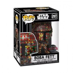 Pop! Futura Star Wars Boba Fett avec Boîte de Protection Acrylique Edition Limitée