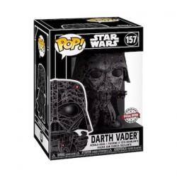 Pop! Futura Star Wars Darth Vader avec Boîte de Protection Acrylique Edition Limitée