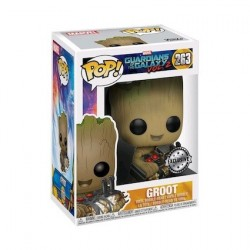 Figur Pop! Marvel Guardians of The Galaxy 2 Groot with Bomb Limited Edition Funko Online Shop Switzerland