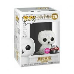 Figuren Pop! Flockierte Harry Potter Hedwig Limitierte Auflage Funko Online Shop Schweiz