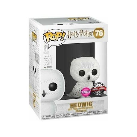 Figur Pop! Flocked Harry Potter Hedwig Limited Edition Funko Online Shop Switzerland