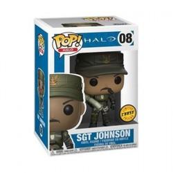 Figur Pop! Games Halo Sgt Johnson Chase Limited Edition Funko Online Shop Switzerland