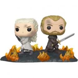 Figurine Pop! Movie Moments Game of Thrones Daenerys et Jorah à la bataille de Winterfell Funko Boutique en Ligne Suisse