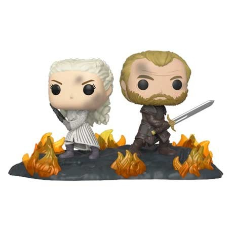 Figur Pop! Movie Moments Game of Thrones Daenerys and Jorah at the Battle of Winterfell Funko Online Shop Switzerland