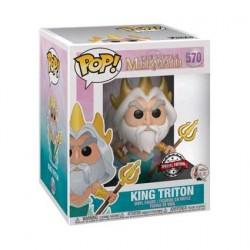 Figurine Pop! 15 cm Disney La Petite Sirène King Triton Edition Limitée Boutique en Ligne Suisse
