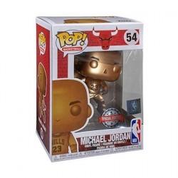 Figurine Pop! Basketball NBA Bulls Michael Jordan Bronze Edition Limitée Funko Boutique en Ligne Suisse