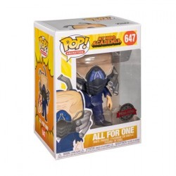 Figurine Pop! My Hero Academia All for One Charged Edition Limitée Funko Boutique en Ligne Suisse