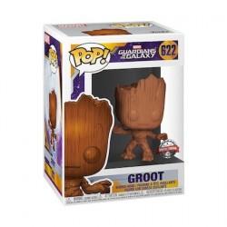 Figurine Pop! Les Gardiens de la Galaxie Baby Groot Wood Deco Edition Limitée Funko Boutique en Ligne Suisse