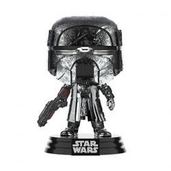 Figurine Pop! Chrome Hematite Star Wars L'Ascension de Skywalker Knight of Ren Blaster Rifle Funko Boutique en Ligne Suisse