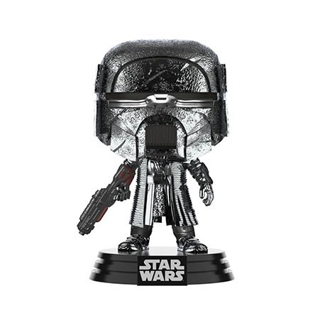Figur Pop! Chrome Hematite Star Wars The Rise of Skywalker Knight of Ren Blaster Rifle Funko Online Shop Switzerland