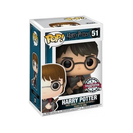 Figur Pop! Harry Potter Harry with Firebolt and Feather Limited Edition Funko Online Shop Switzerland