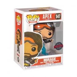 Figurine Pop! Games Apex Legends Mirage Translucide Edition Limitée Funko Boutique en Ligne Suisse