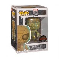 Figurine Pop! Marvel 80th Anniversary Spider-Man Patina Edition Limitée Funko Boutique en Ligne Suisse
